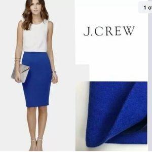 J. Crew factory pencil skirt wool blend